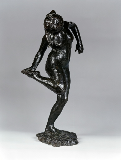 Degas' Dancer Looking at the Sole of Her Right Foot