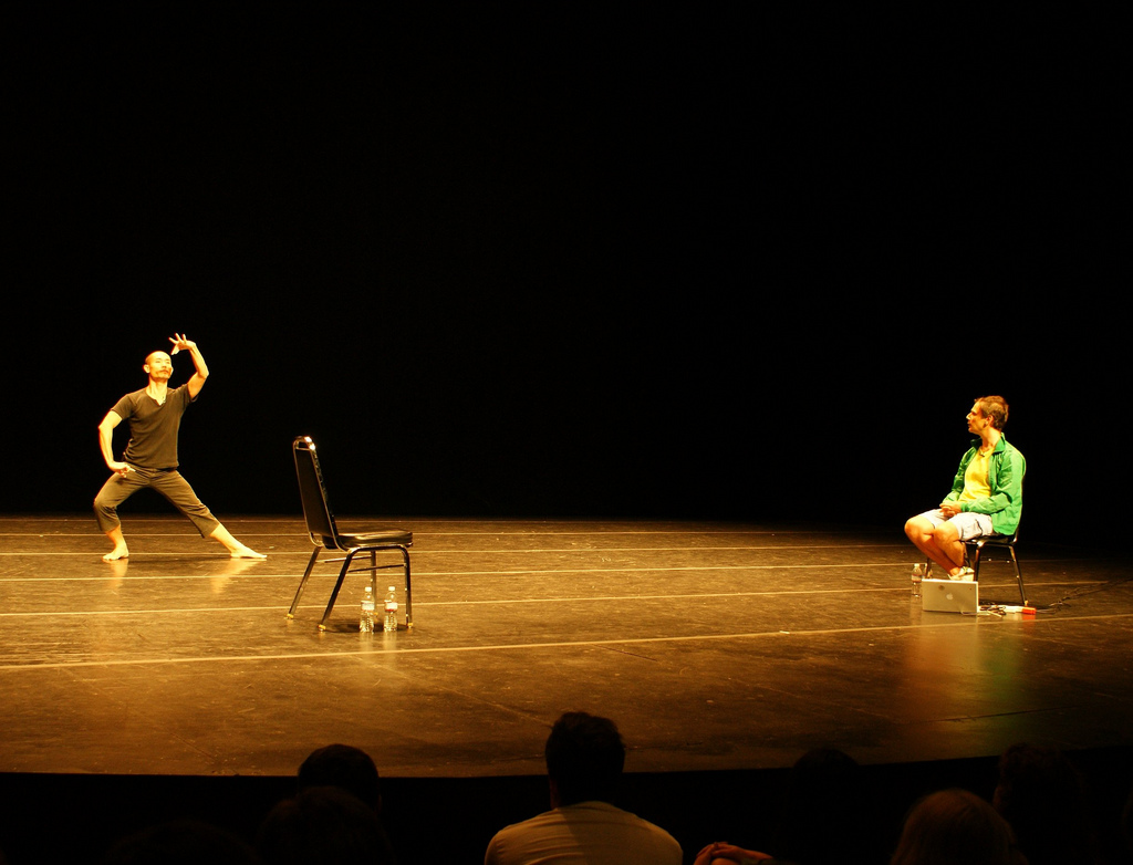 Klunchun and Bel at Lincoln Performance Hall. CAROLEZOOM/PICA