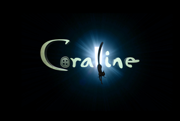 Coraline movie logo
