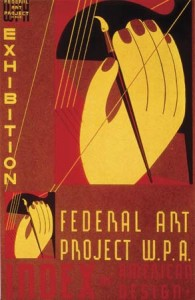 Works Progress Administration poster, 1930s