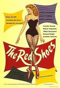 """The Red Shoes"" original poster"