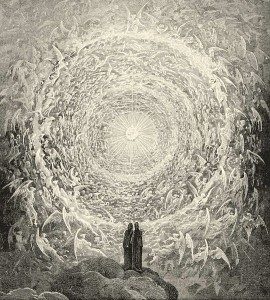 "The angelic choir/Gustave Dore for ""The Divine Comedy"""