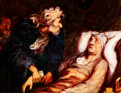 Le Malade Imaginaire, Honore Daumier