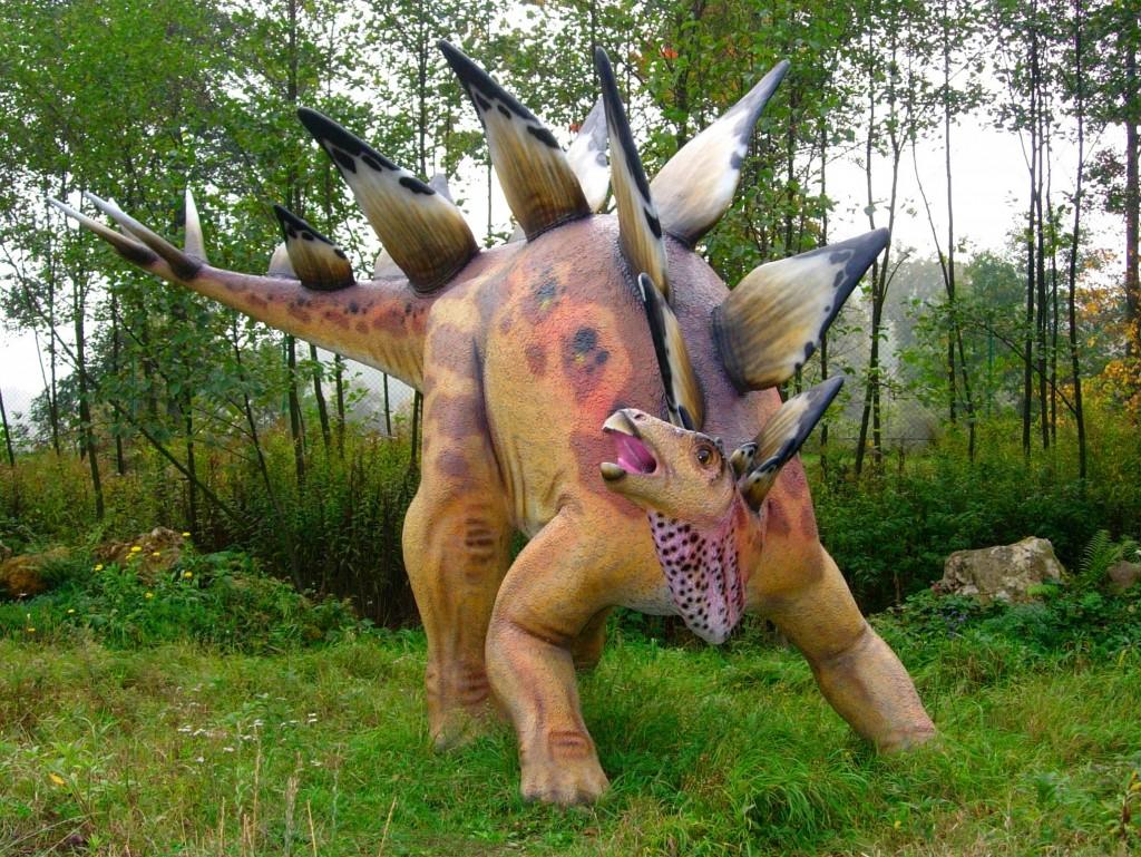 Stegosaurus, Baltow Jurassic Park, Poland/Wikimedia Commons