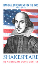 The NEA takes Shakespeare to America