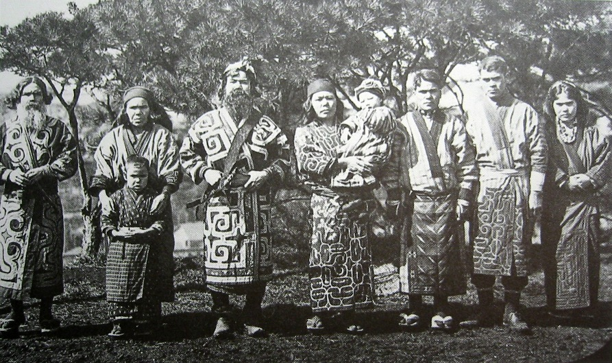 Ainu group, 1902 or 1904/Wikimedia Commons