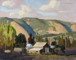 Eric Bowman, Oregon Farm, 2007/Froelick Gallery