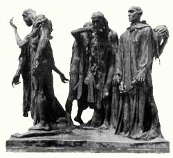 The Burghers of Calais, Auguste Rodin