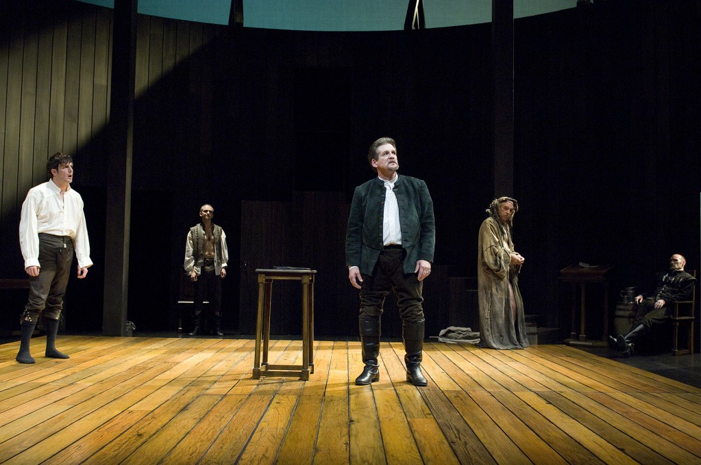 Anthony Heald as Shag (center) in Equivocation. Photo: JENNY GRAHAM/Oregon Shakespeare Festival