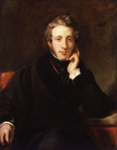 Edward George Bulwer-Lytton, painted by Henry William Pickersgill. Wikimedia Commons