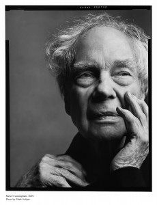 Merce Cunningham. Photo: Mark Seliger/2009