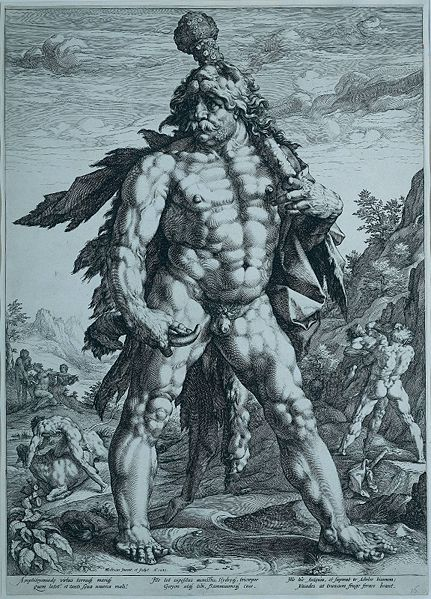 Hercules, by Hendrick Goltzius/Wikimedia Commons