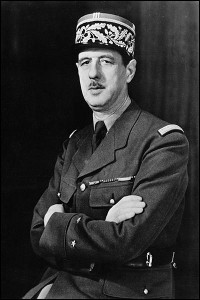 WWII portrait of General Charles de Gaulle, about 1942/Wikimedia Commons