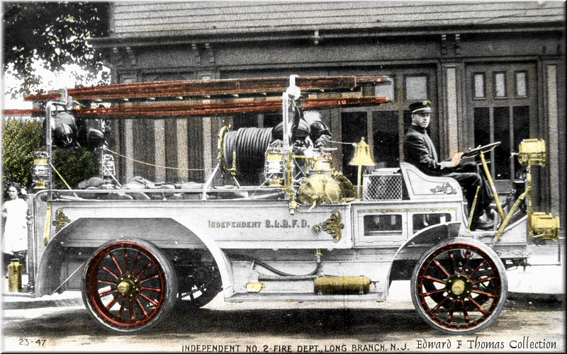 Independent No. 2-Fire Dept., Long Branch, N.J./Edward F. Thomas Collection/from www.historiclongbranch.org