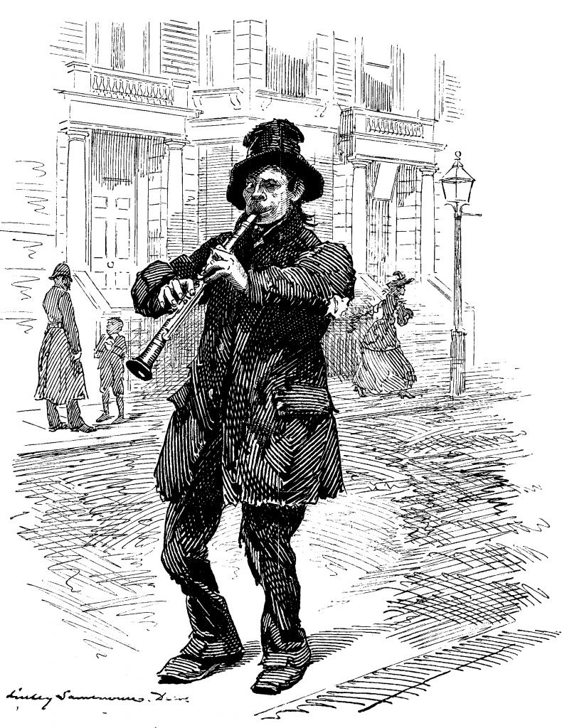 Jem Baggs (The Wandering Minstrel), Punch, 1892/Project Gutenberg