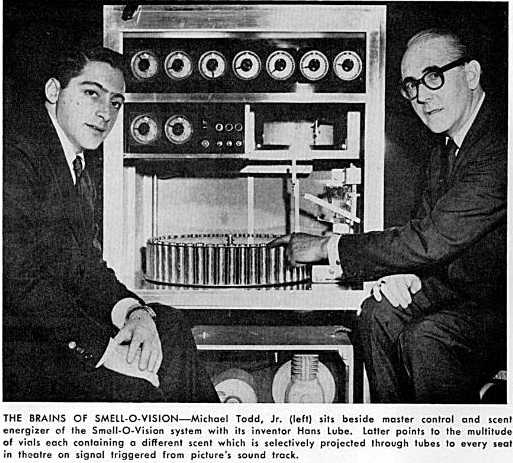 The Smellovision machine!