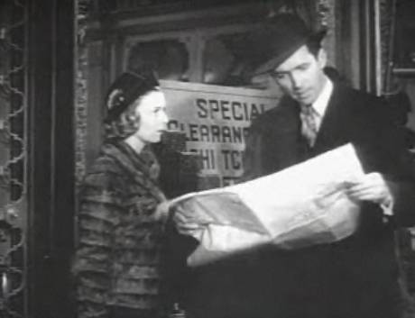 Margaret Sullavan and James Stewart in The Shop Around the Corner. Wikimedia Commons.