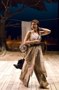 Helena (Kjerstine Rose Anderson) embarks on her pilgrimage to Italy. Photo by Jenny Graham