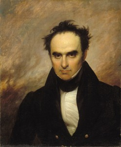 "Daniel ""Black Dan"" Webster, heartthrob of the political stage. Portrait: George Shattuck, 1834/Mational Portrait Gallery, Washington, D.C."