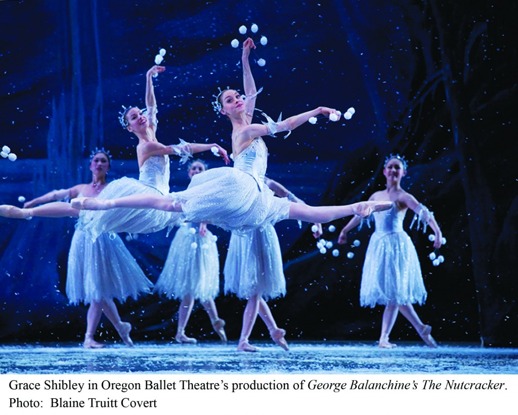 Oregon Ballet Theatre's version of George Balanchine's The Nutcracker