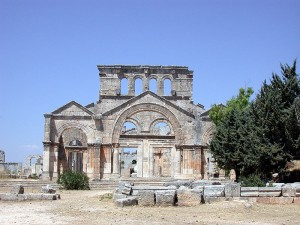 The Church of Saint Simeon Stylites in Aleppo, Syria, is considered to be one of the oldest surviving church buildings in the world. / Wikimedia Commons