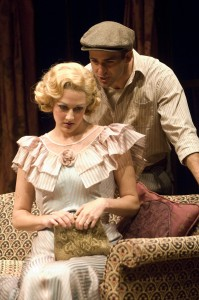 "Sarah Rutan and Mark Bedard in ""Paradise Lost."" Photo: Jenny Graham/Oregon Shakespeare Festival/2009"