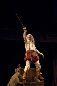 Armando Duran as Don Quixote. Photo: Jenny Graham/Oregon Shakespeare Festival/2009