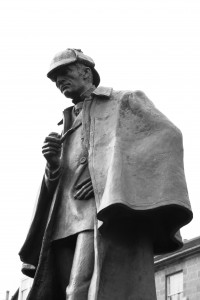 Sherlock Holmes statue in Edinburgh, Scotland. Photo: Siddharth Krish/Wikimedia Commons