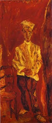 Chaim Soutine, The Little Pastry Chef. Portland Art Museum.