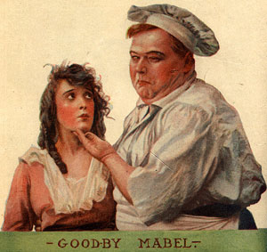 Fatty Arbuckle with Mabel Normand: What's cookin, good-lookin?