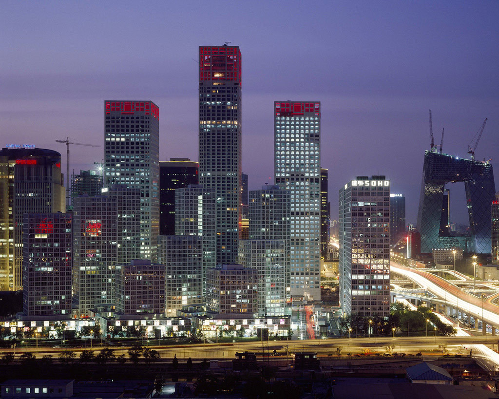 Beijing on the rise: It's getting bigger all the time. Wikimedia Commons