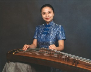 Zheng virtoso Haiqiong Deng, guest performer with Third Angle.