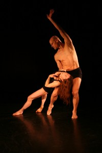"Carla Mann and Jim McGinn in ""Exquisite Corpse."" Photo: Gordon Wilson"