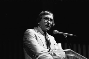 Edward Albee, 1987. NDCarchives/Wikimedia Commons