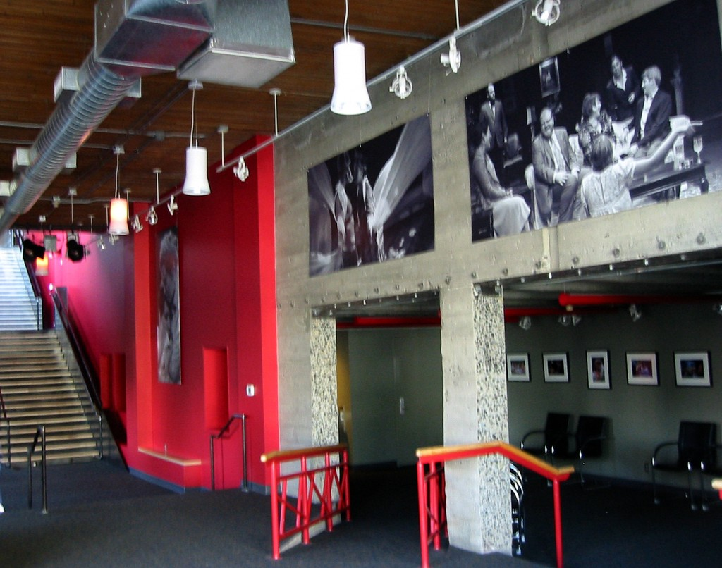 Alder Street lobby at Artists Repertory Theatre. Photo: Jessica Gleason