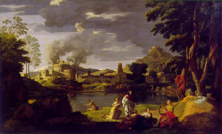 """""""Orpheus and Eurydice,"""" Nicolas Poussin, 1650-51"""