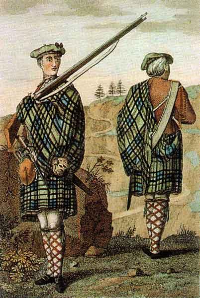 Highland soldier, 1744. Shot 'em? Darned near kilt 'em!/Wikimedia Commons