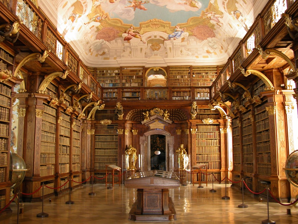 Melk Benedictine Abbey Library/Emgonzalez/Wikimedia Commons