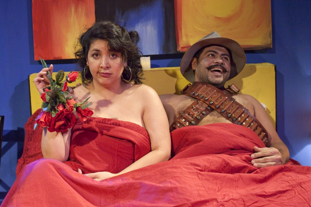 Nurys Herrera and Vicente Guzmán-Orozco; photo by Russell Young