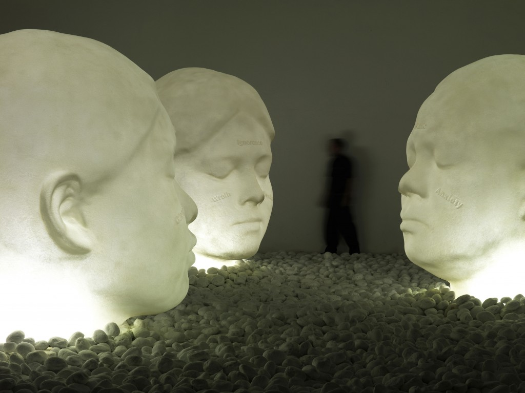 "Jaume Plensa, ""In the Midst of Dreams,"" 2009. Courtesy of the artist and Galerie Lelong, New York"