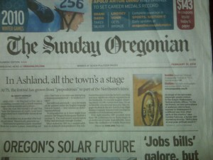 The Oregonian: a race to thrive and survive
