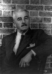 William Faulkner in 1954. Photo: Carl Van Vechten. Wikimedia Commons