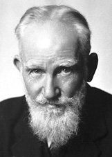 George Bernard Shaw in 1925, when he won the Nobel Prize