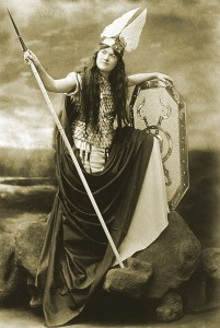 Brunnhilde, George Grantham Bain Collection/Library of Congress