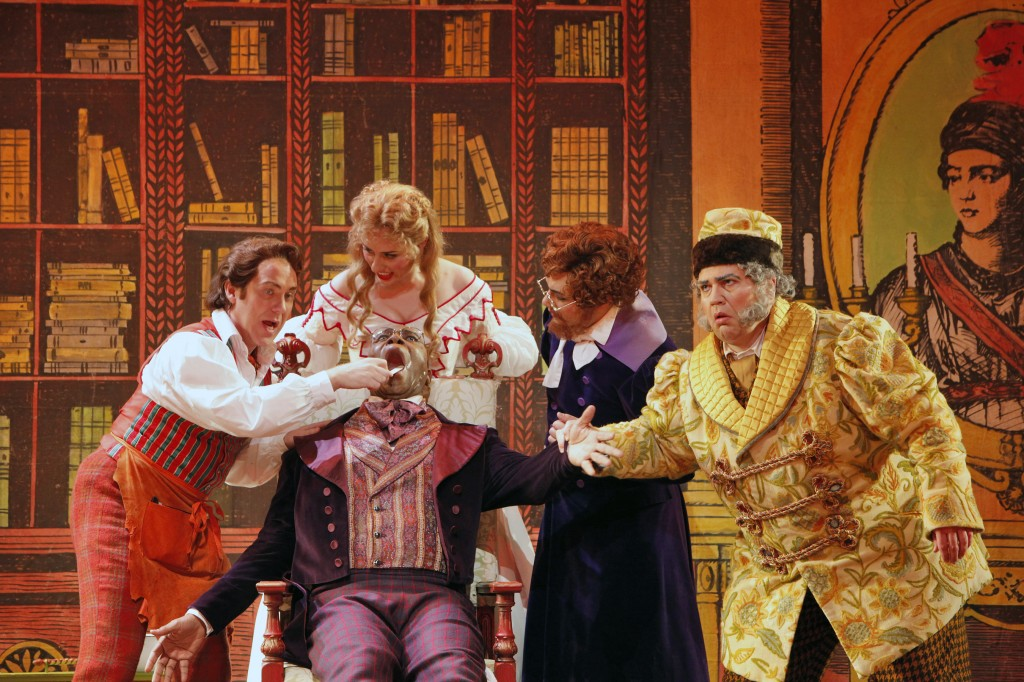"""The Barber of Seville."" Photo: Cory Weaver/Portland Opera"