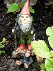 JoJo and Gnome Friend