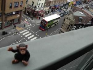 JoJo said hello to London