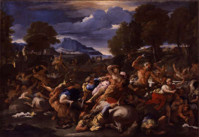 """Battle of the Lapiths and the Centaurs"" by Luca Giordano/Portland Art Museum"