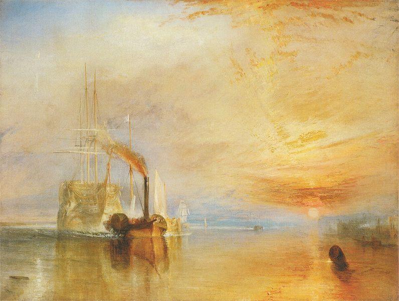"""The Fighting Temeraire"" by J.M.W. Turner, 1838, National Gallery London/Wikimedia Commons"