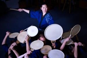 Michelle Fujii and Portland Taiko. Photo: Joni Shimabukuro